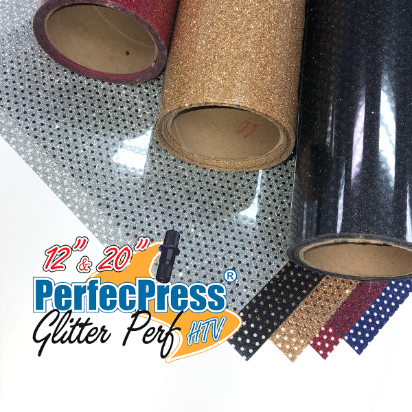 PerfecPress Glitter Perforated Sheets & Rolls THUMBNAIL