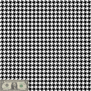 Custom Large Houndstooth Patterns