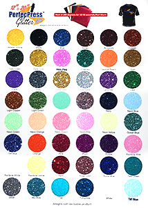 PerfecPress Glitter Color Chart THUMBNAIL