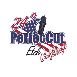 "24"" Perfeccut Etch Sign Vinyl THUMBNAIL"