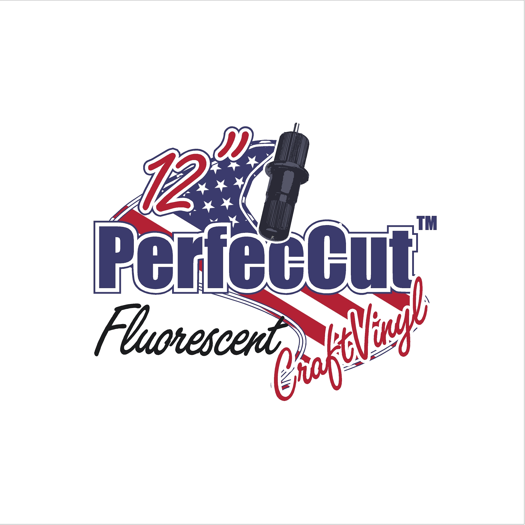 "12"" PerfecCut Fluorescent Craft Vinyl"
