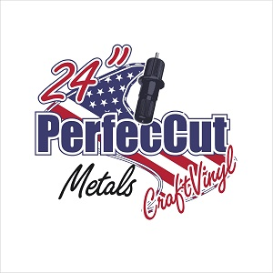 "24"" PerfecCut Metals Sign Vinyl"