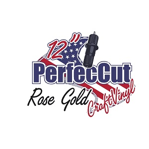 "12"" PerfecCut Rose Gold Craft Vinyl THUMBNAIL"