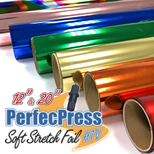 PerfecPress Soft Stretch Foil Sheets & Rolls THUMBNAIL