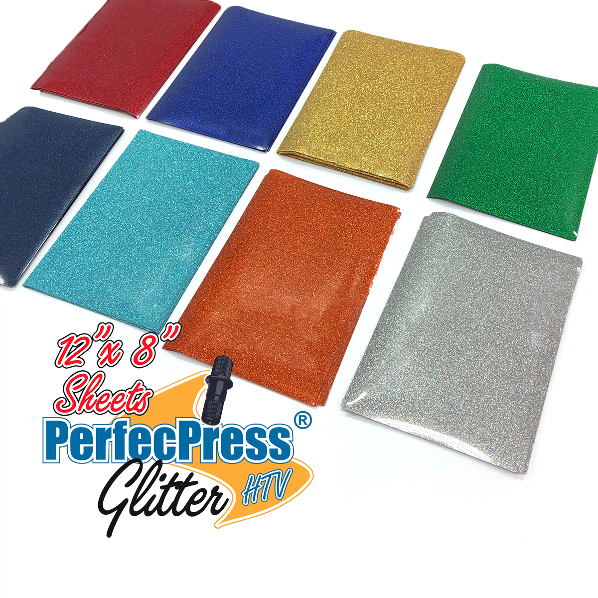"PerfecPress Glitter 12"" x 8"" Sheet MAIN"