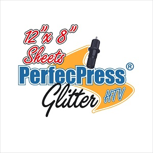 "PerfecPress Glitter 12"" x 8"" Sheet"
