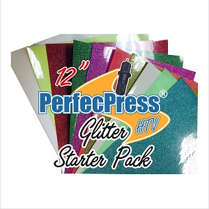 "12"" PerfecPress Glitter Starter Pack (10 Sheets)"