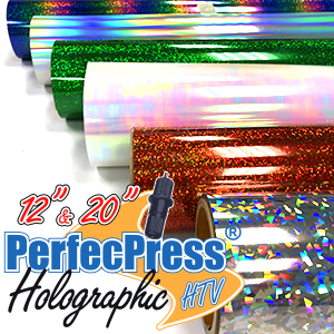 PerfecPress Holographic Foil Sheets & Rolls THUMBNAIL