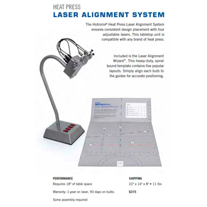 Hotronix Laser Alignment System- Drop Ship