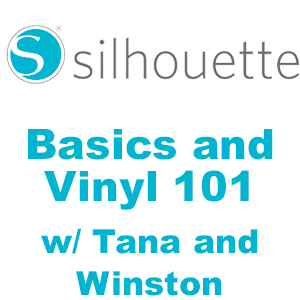 Cameo Silhouette Basics and Vinyl 101 (Training Class) MAIN