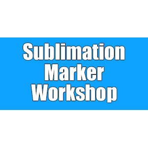Sublimation Markers Workshop THUMBNAIL