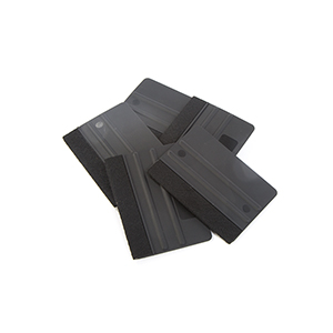 1 Side Black Felt Squeegee THUMBNAIL