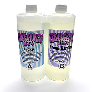 Epoxy Resin A & B 1qt of each. MAIN