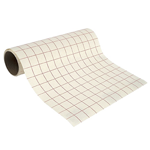 "12"" Transparent Grid Transfer Tape"
