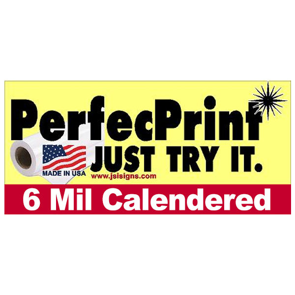 Large Format Printing Solvent Print Media 6 Mil Solvent