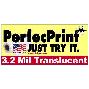 "PerfecPrint 54""x150' 3.2mil Translucent MAIN"