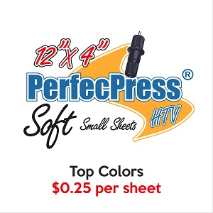 "PerfecPress 25 Cent 4"" Soft Sheets"