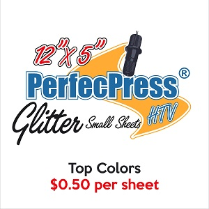 "PerfecPress Glitter 12"" x 5"" Sheets THUMBNAIL"
