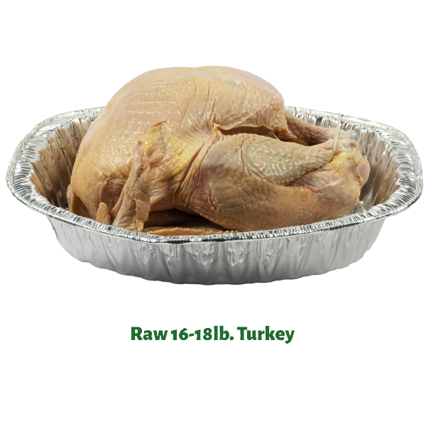 Whole 16-18lb. Turkey Dinner</br>Ready-to-Cook MAIN