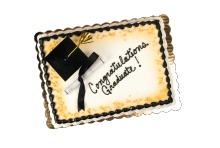 Graduation Sheet Cake THUMBNAIL