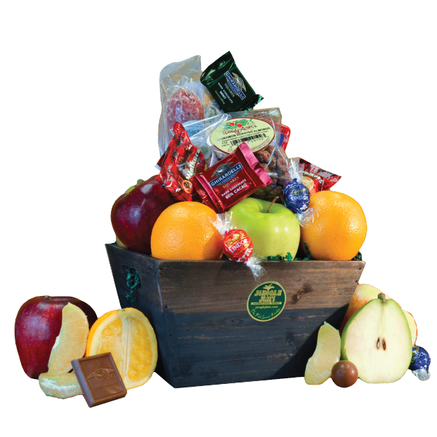 Fruit and Deli Basket THUMBNAIL