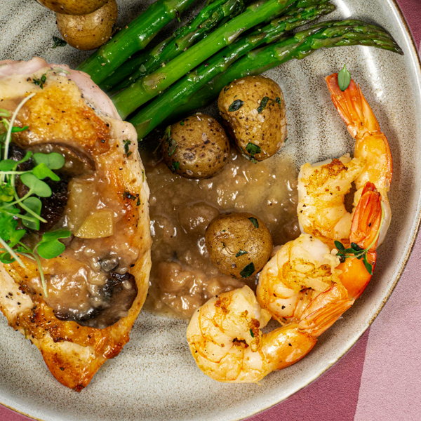 Chicken and Shrimp Dinner</br>Ready-to-Heat MAIN