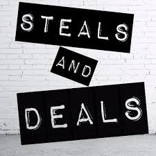 Steals and Deals-