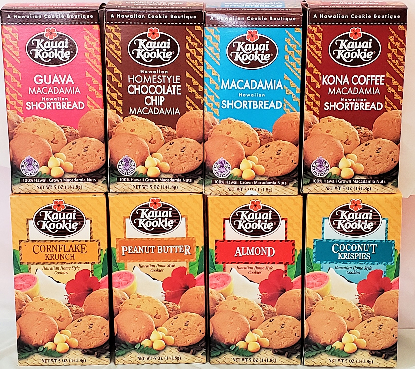 Pre-Packed Classic Cookies - 12 Boxes