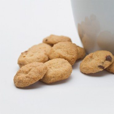 Bite-Sized Chocolate Chip Macadamia Cookies 4 oz THUMBNAIL