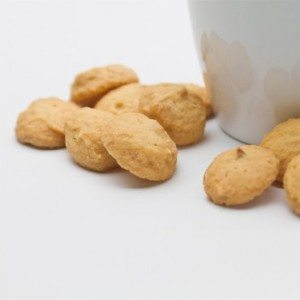 Bite-Sized Macadamia Nut Shortbread Cookies 3 oz  x 12 Holiday Stocking Stuffer set_SWATCH
