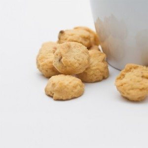 Bite-Sized Macadamia Tea Cookies 4 oz THUMBNAIL