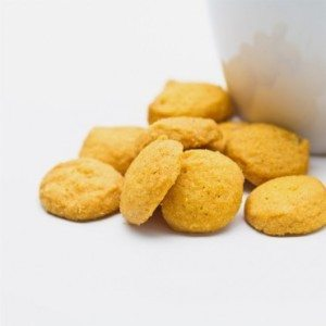 Bite-Sized Pineapple Macadamia Nut Cookies 4 oz THUMBNAIL