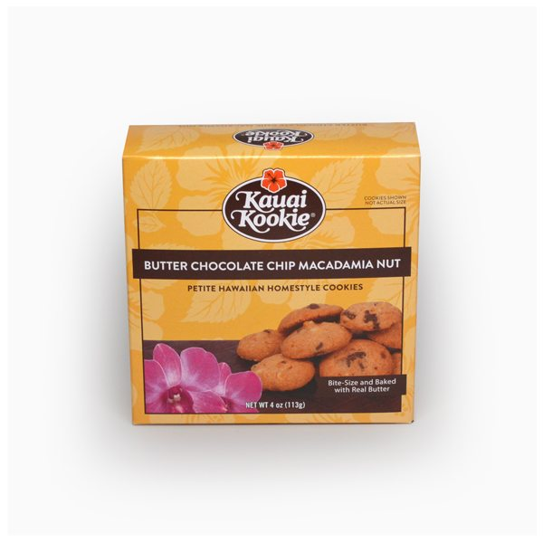 Butter Petitie Chocolate Chip Macadamia Nut 4 oz MAIN