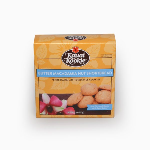 Butter Macadamia Nut Shortbread 4 oz Mini-Thumbnail