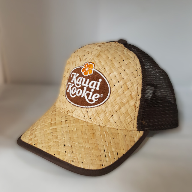 Kauai Kookie Straw Trucker THUMBNAIL
