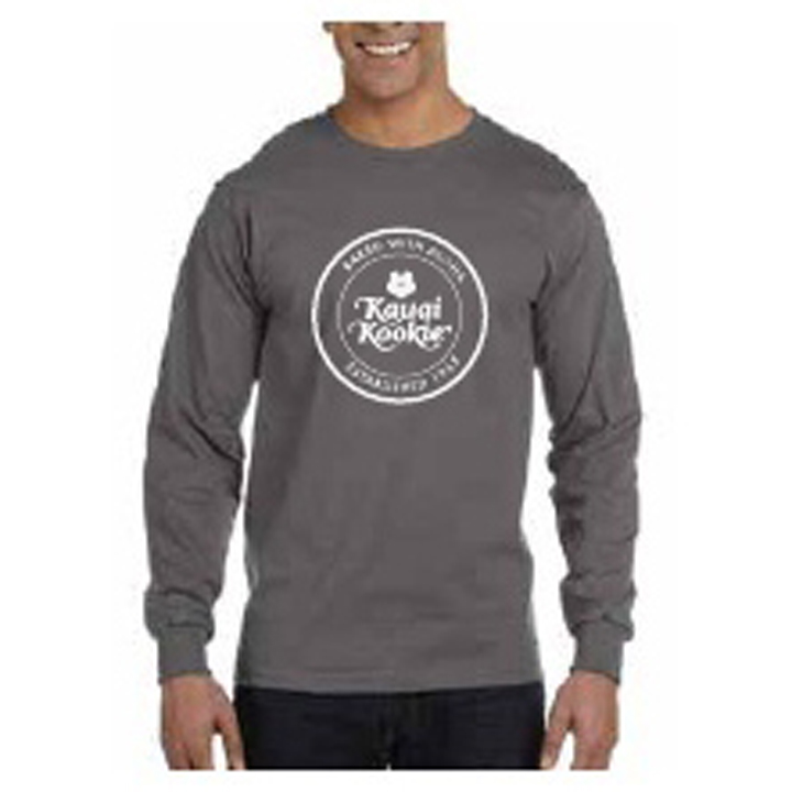 Kauai Kookie ORIGINAL Uni Gray Sweatshirt SWATCH