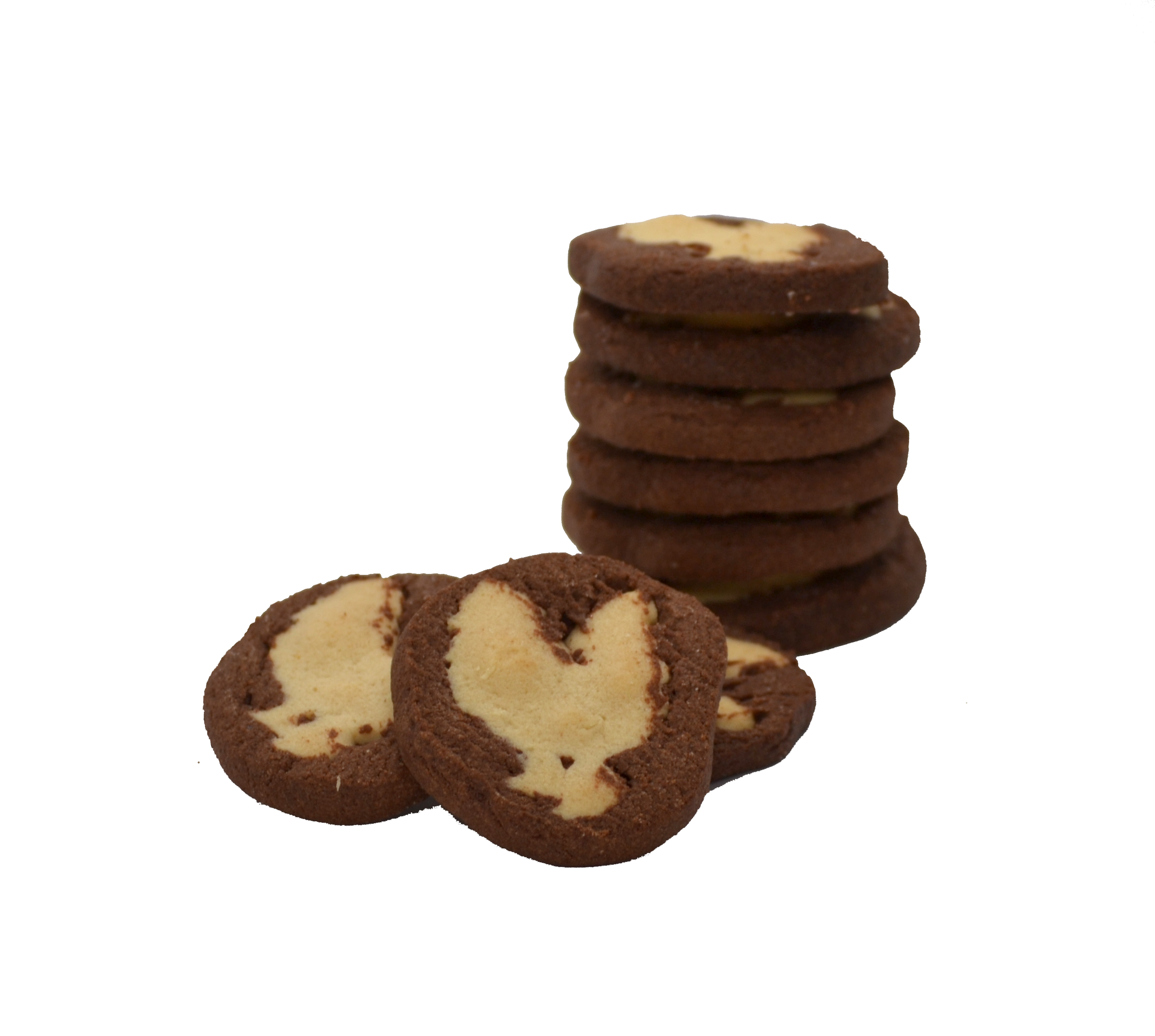 Kauai Rooster Cookies - Haupia Coconut Chocolate SWATCH