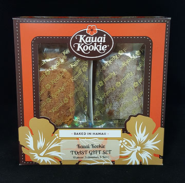 kauai Kookie Toast Gift Box THUMBNAIL