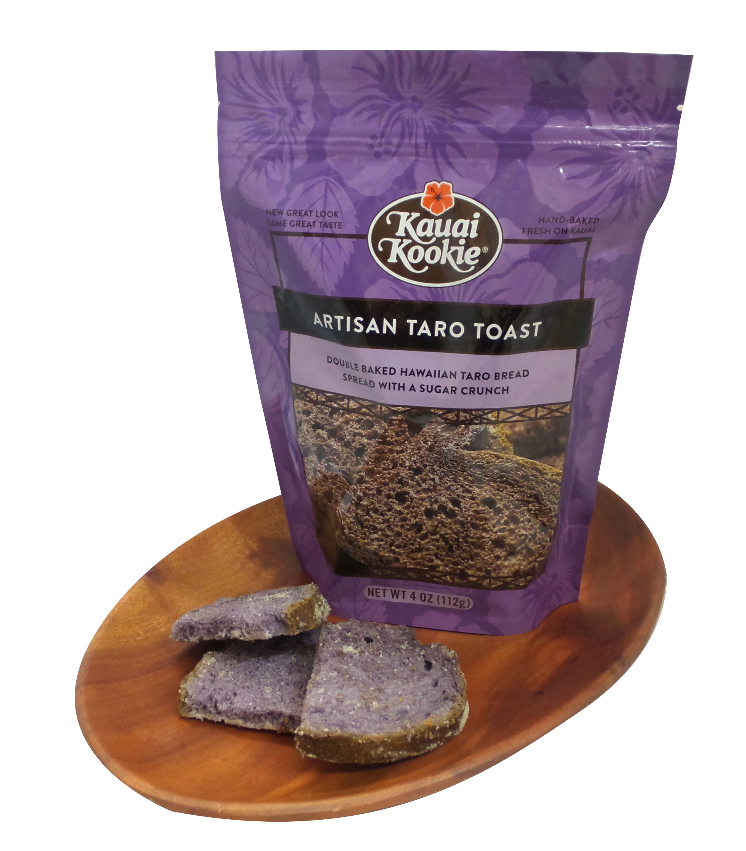 Handcrafted Double Baked Artisan Taro Toast 4 oz