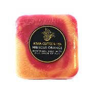 Handmade Hibiscus Orange Soap THUMBNAIL