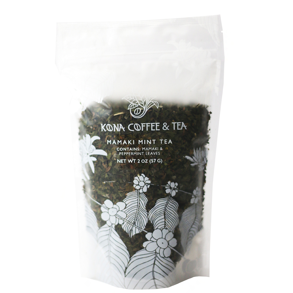 Kona Coffee & Tea - Mamaki Mint Loose Leaf Tea MAIN
