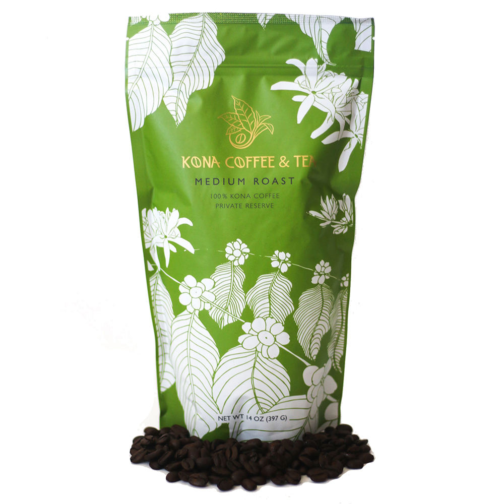 100% Kona Coffee - Medium MAIN