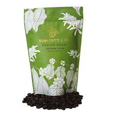 100% Kona Coffee - Medium SWATCH