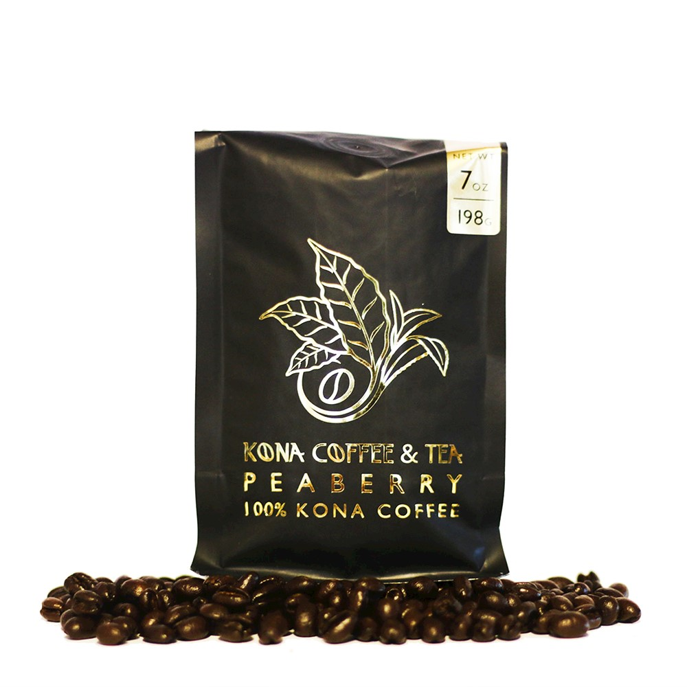 100% Kona Coffee - Peaberry 7oz_MAIN