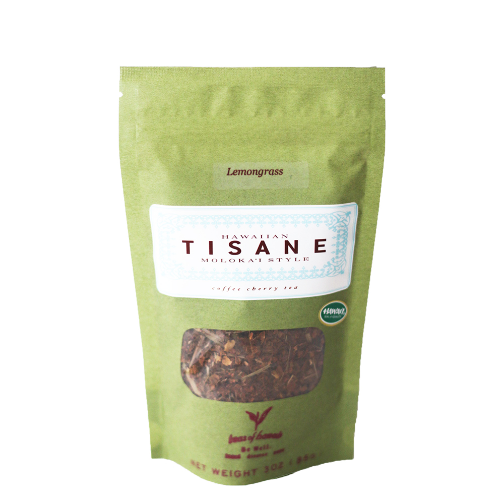 Tisane Coffee Cherry Lemongrass Loose leaf Tea