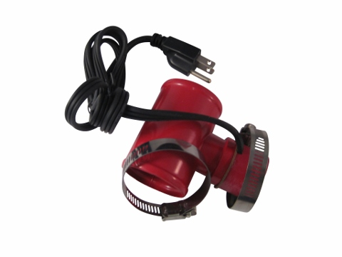 Lower Rad Hose Heater 2""