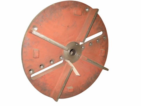 Wood Chipper Fly Wheel_MAIN