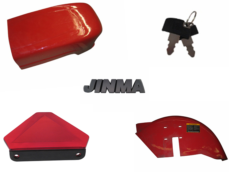 Jinma Tractor Chassis, Exterior, & Accessories