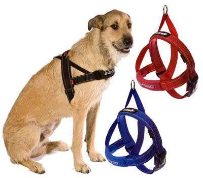 EZYDOG Quick Fit Harness Red XL - King Wholesale Pet Supplies