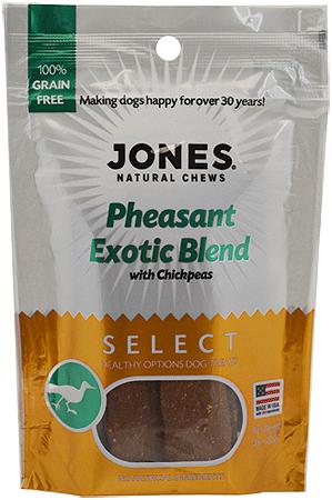 JONES SELECT Exotic Blend Pheasant 3oz - King Wholesale Pet Supplies